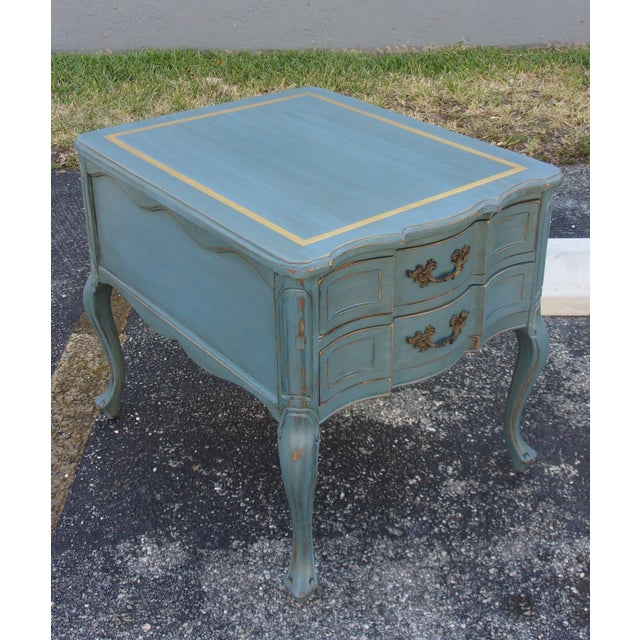Vintage French Provincial Nightstands - A Pair - Image 6 of 10