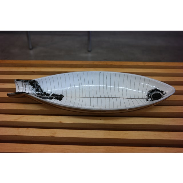 Large Tackett Ceramic Fish Platter - Image 3 of 8