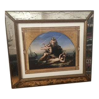 Framed Print of Sirens Painting