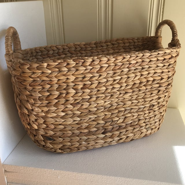 Boho Seagrass Rope Basket - Image 8 of 8