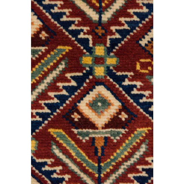 """New Traditional Hand Knotted Area Rug - 4'1"""" x 6'4"""" - Image 3 of 3"""