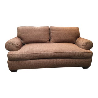 A. Rudin Down Multi-Colored Sofa