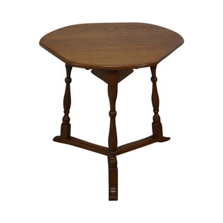 Schmieg & Kotzian Solid Oak Side Table