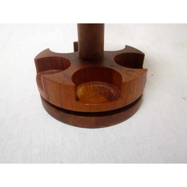 Digsmed Teak Glass Spice Jar - Image 9 of 9