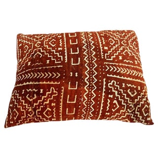 Malian Mud Cloth Pillow