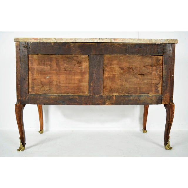 Traditional 19th Century French Louis XVI-style Inlaid Chest of Drawers - Image 10 of 11