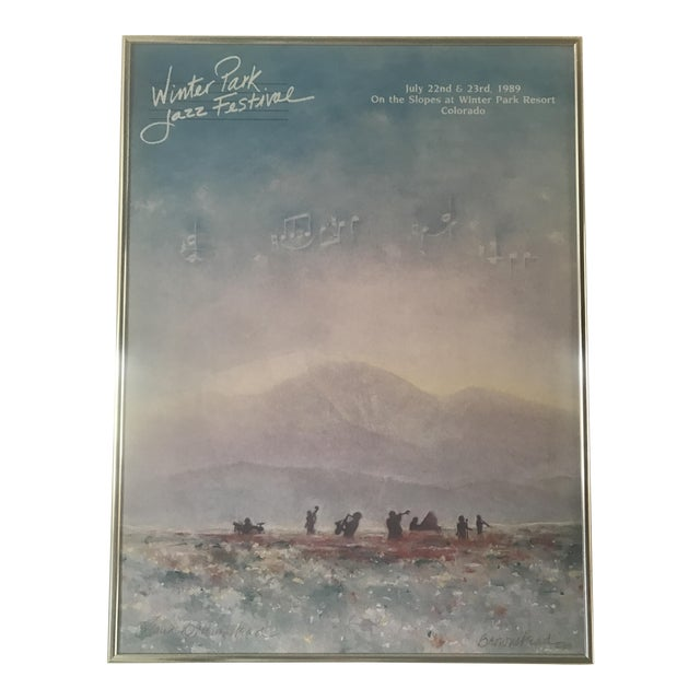 Image of Winter Park Poster by David Brownstead