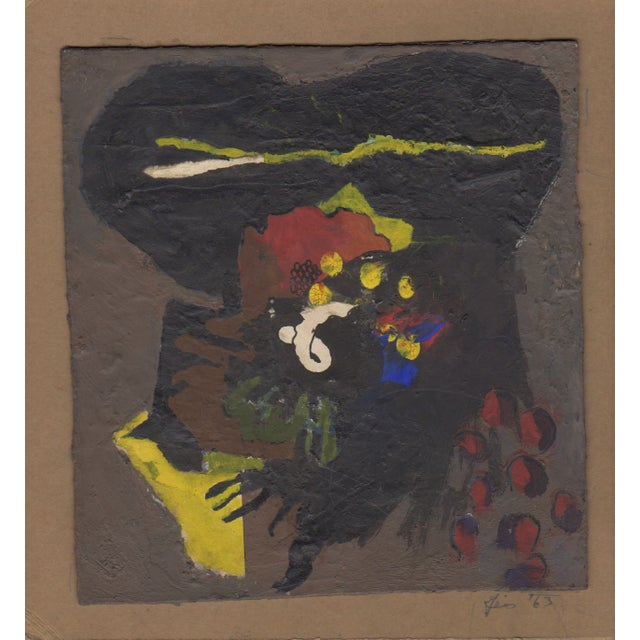 Vintage Bill Geiss Color Abstract c.1960's - Image 1 of 2