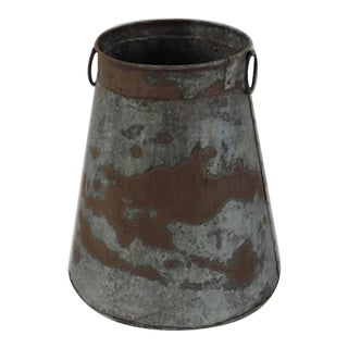 Indian Rustic Iron Container
