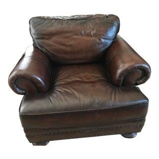 Bernhardt Brown Leather Chair