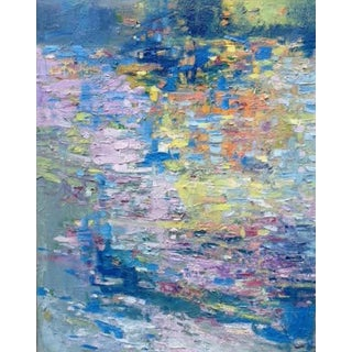 'Artifact No.1' Abstract Impressionist Painting