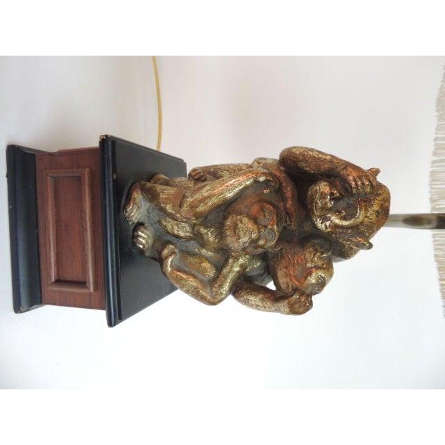 Vintage Monkeys Table Lamp - Image 4 of 7