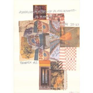 Robert Rauschenberg, American Academy of Achievement, Phoenix, AZ, 1987 Poster