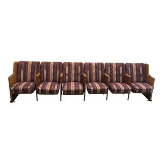 Custom Pendleton Upholstered Theater Seating