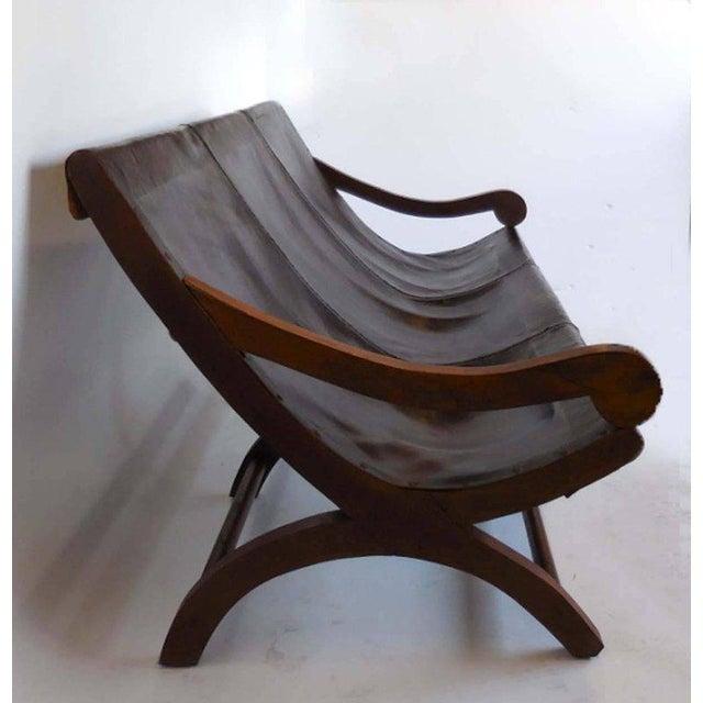 Leather Butaca Sofas - Image 4 of 9
