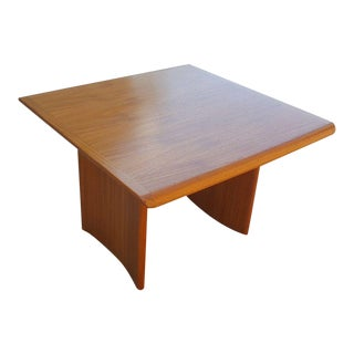 Vejle Stole Mobelfabrik Teak Danish Mid-Century Modern End Table