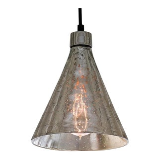 Regina Andrew Mercury Glass Beaker Pendant Light
