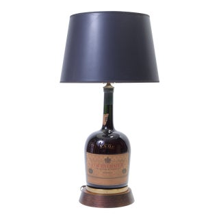 Vintage Courvoisier Bottle Lamp