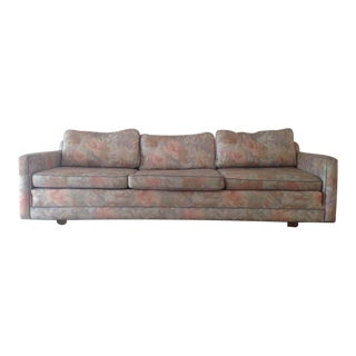 Vintage Floral Upholstered 3 Cushion Sofa