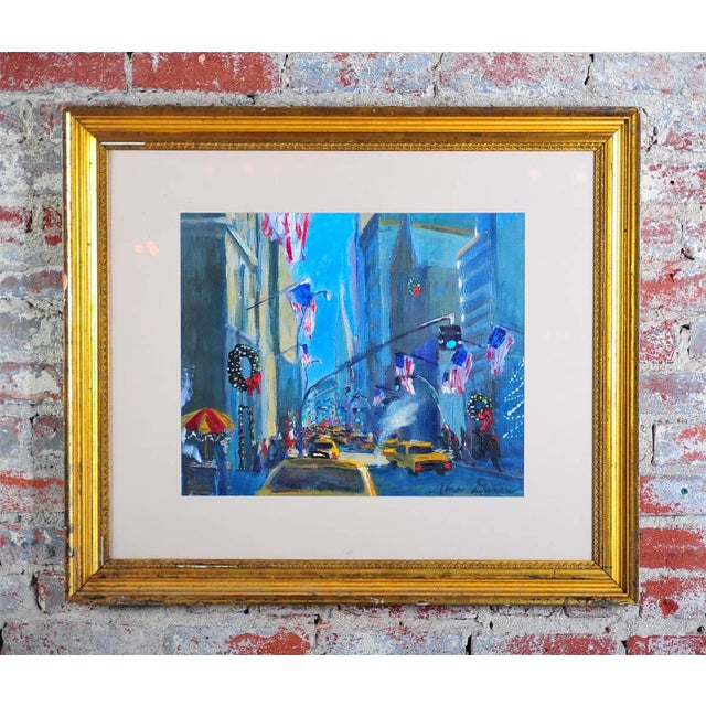 """""""Downtown Manhattan 4th July,"""" Oil Painting - Image 2 of 10"""