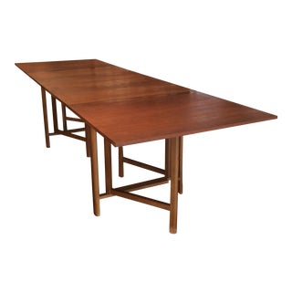 "Bruno Matthsson ""Maria"" Extension Dining Table"