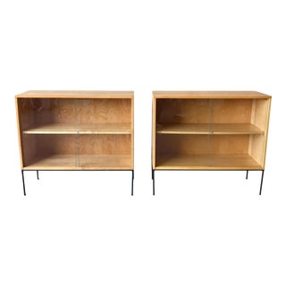 Paul McCobb display cases - a Pair