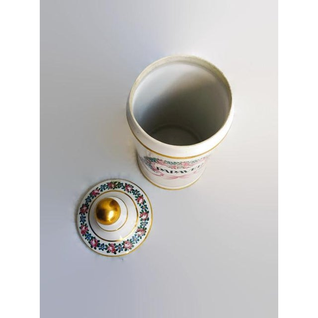 Vintage Apothecary Ceramic Opium Canister/Jar - Image 6 of 7