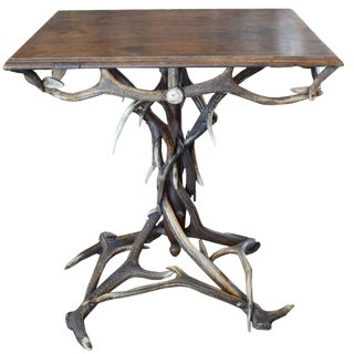 Bavarian Antler Table