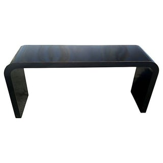 Modern 1970's Waterfall Console Table