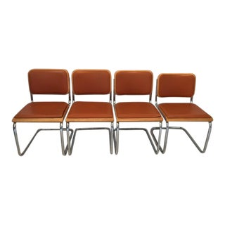 Thonet Vintage Cantilever Chairs - Set of 4