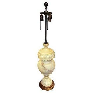 Tall Onyx Lamp