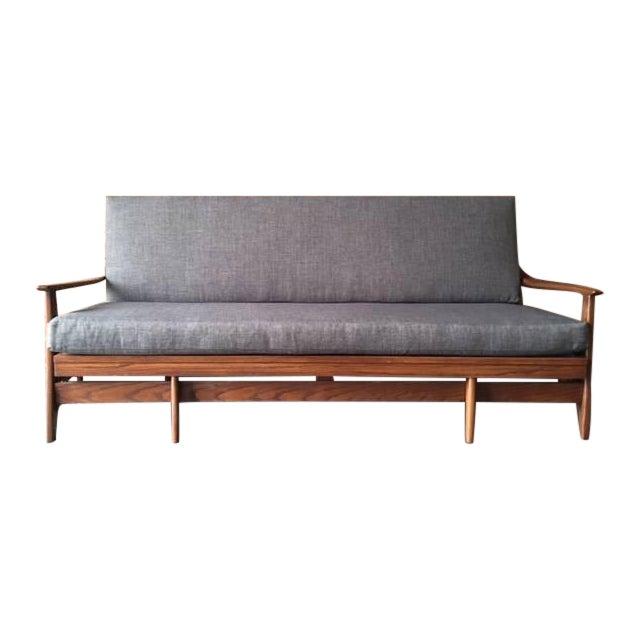 Mid Century Transforming Sofa Bed - Image 1 of 6