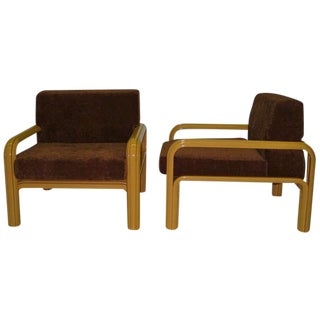 Gae Aulenti Chairs For Knoll, Pair