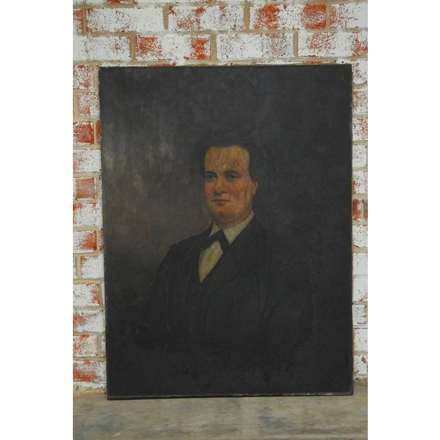 19th Century English Portrait of a Gentleman Oil on Canvas - Image 4 of 10
