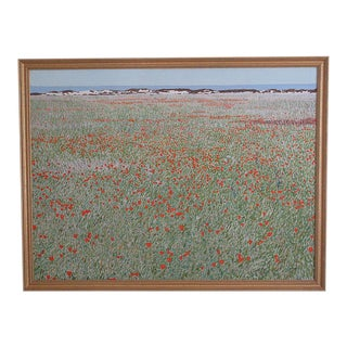 """""""California Red Poppy Field"""" Painting by Alan H. Curtis"""