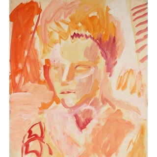 Expressionist Portrait in Warm Tones by Jack Freeman