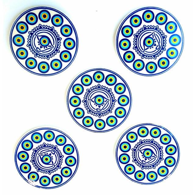 Image of Turkish Handmade Coasters - Set of 5
