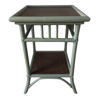 Rattan Square Table or Plant Stand