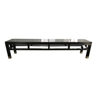 Asian Style Antique Low Bench