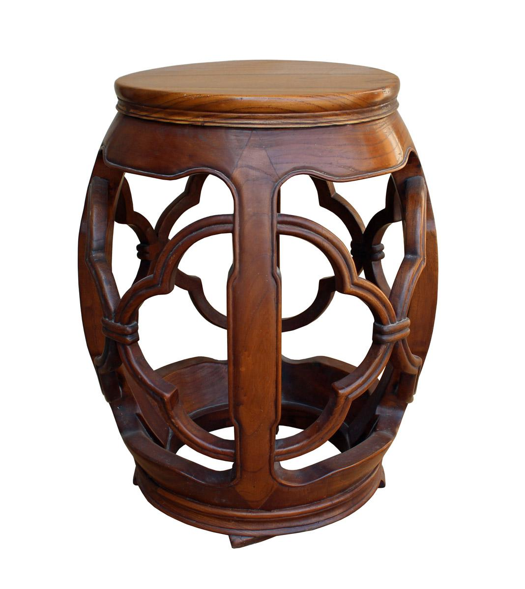 Chinese Wood Drum Stool - Image 2 of 5  sc 1 st  Chairish & Chinese Wood Drum Stool | Chairish islam-shia.org