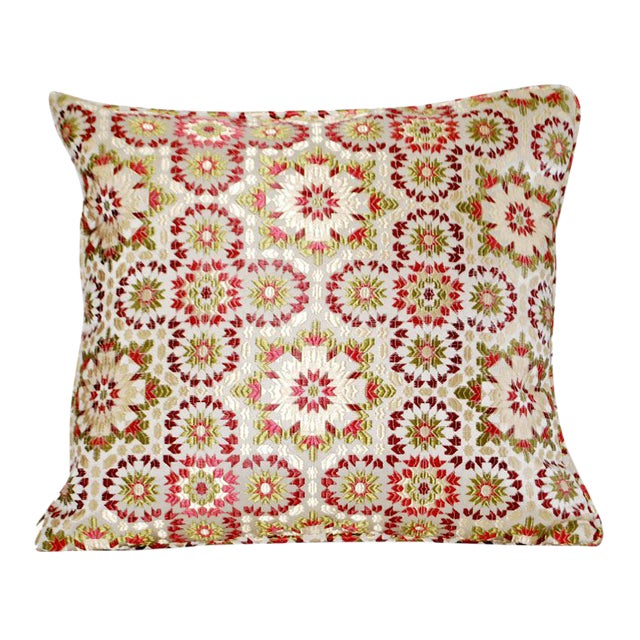 Throw Pillows Malum : Moroccan Zellig Fabric Throw Pillow Chairish