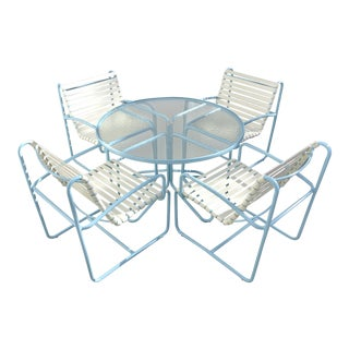 Brown Jordan ThinLine Outdoor Dining Set - Set of 5