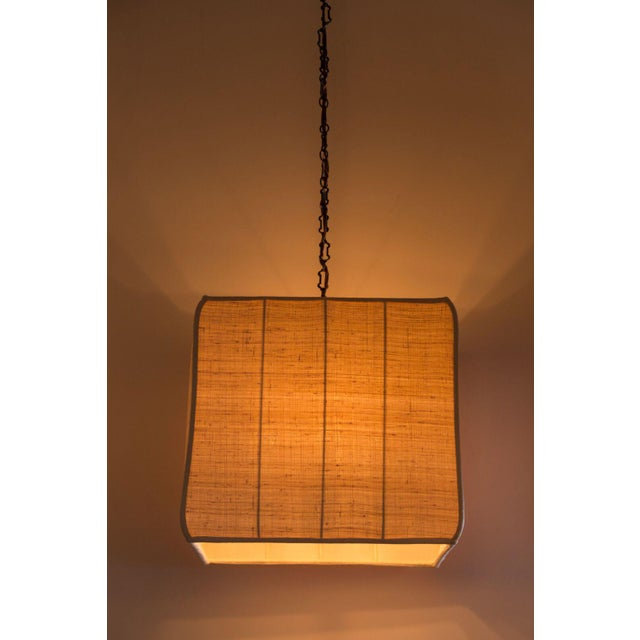 Paul Marra Asian-Inspired Four Light Shaded Pendant - Image 2 of 6