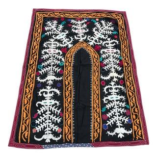 Antique Black & White Suzani Fabric