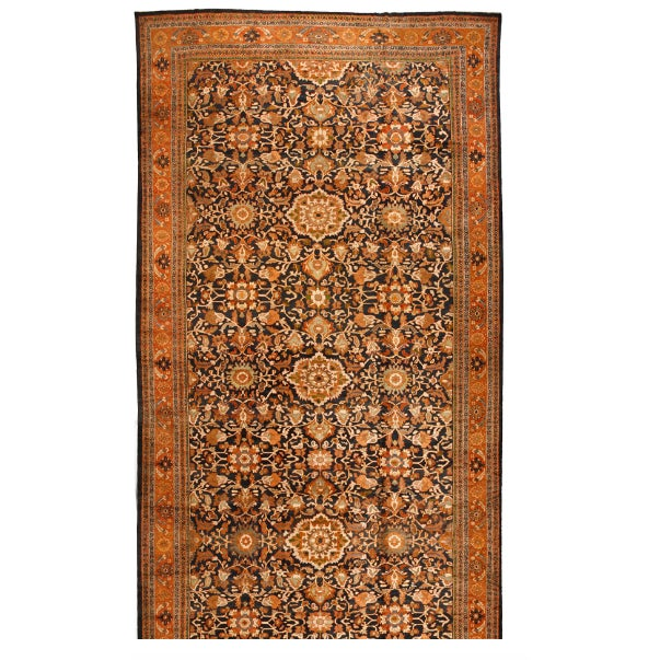 Antique Oversize 19th Century Persian Sultanabad Carpet - Image 1 of 1