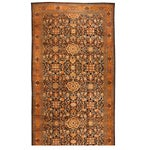 Image of Antique Oversize 19th Century Persian Sultanabad Carpet