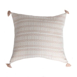 Blush Pink Mexican Pillow Cover