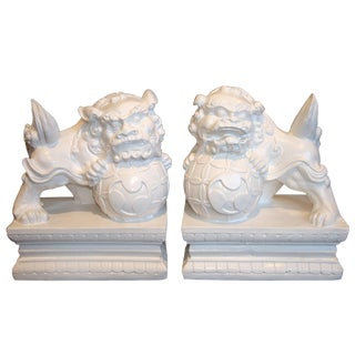 Chinese Fu Dogs - A Pair
