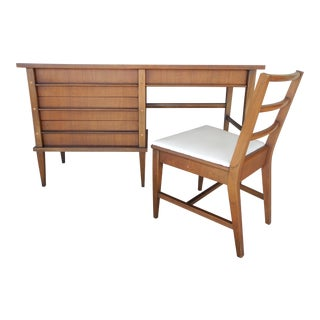 Kent Coffey Simplicite Mid-Century Modern Desk & Chair