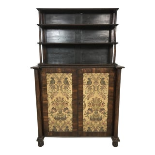 1840s Antique English Rosewood Cabinet